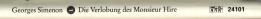 Simenon - Die Verlobung des Monsieur Hire