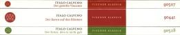 Calvino - Vorfahren-Trilogie